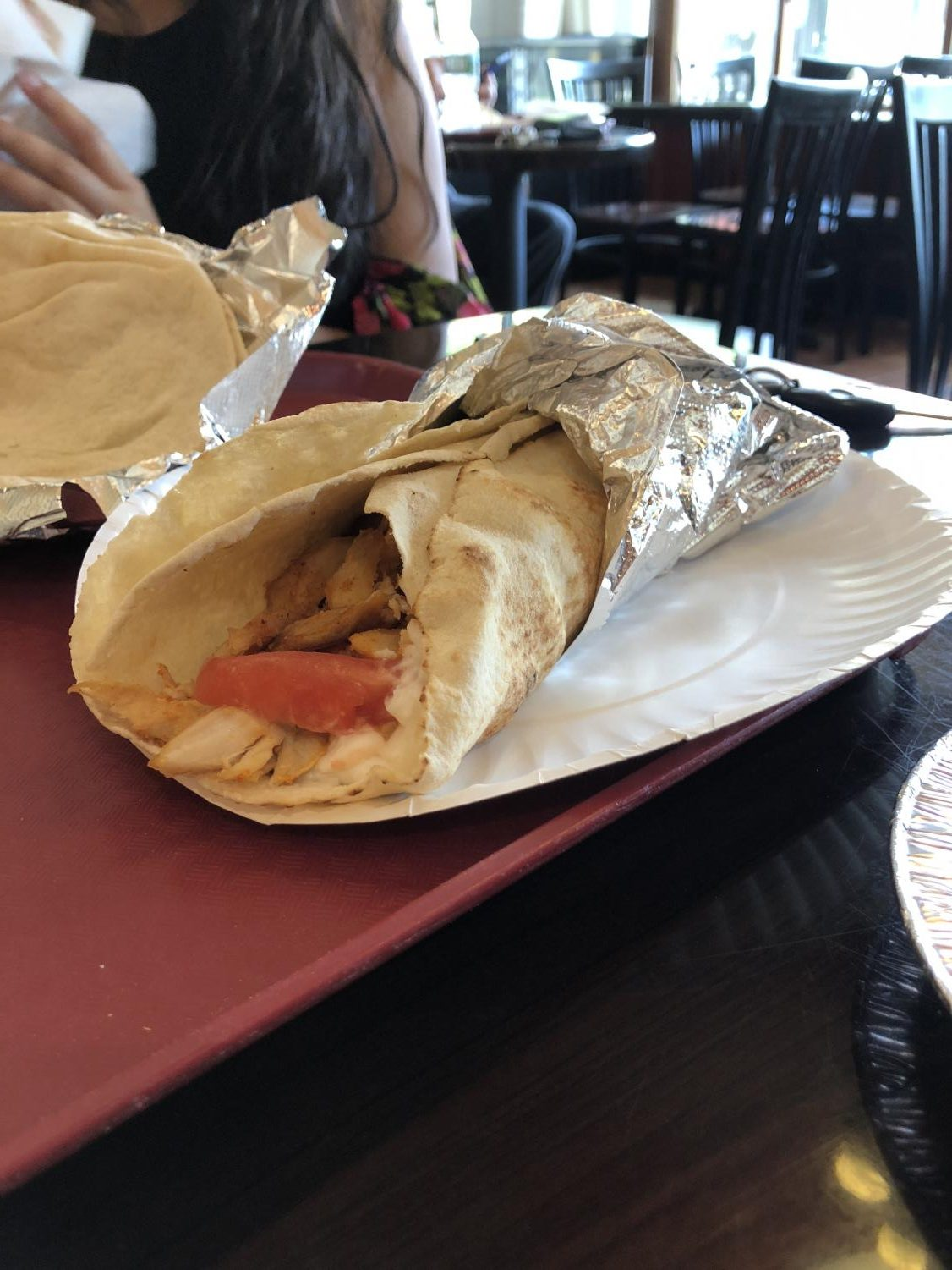Chicken Shawarma: a popular dish among Worcester locals