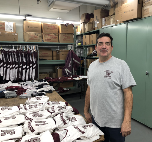 Shattuck in the WA equipment room