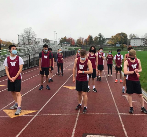 The Cross Country team is ready to go against Wilbraham and Monson today in a virtual race! It's the first competition on campus since March! Go Hilltoppers!